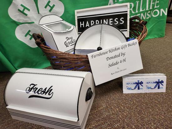 Farmhouse Kitchen Gift Basket - Salado 4-H