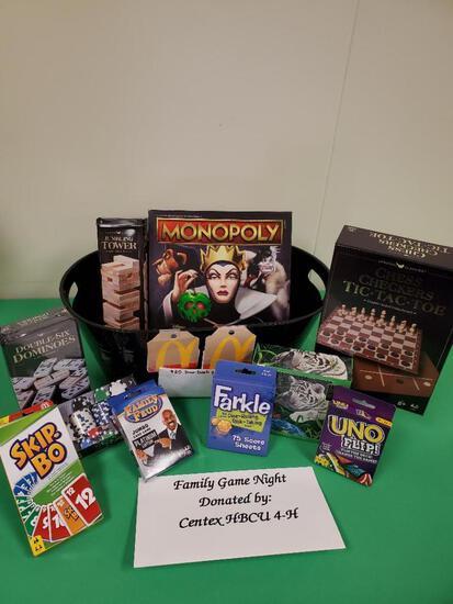 Family Game Night Centex HBCU 4-H