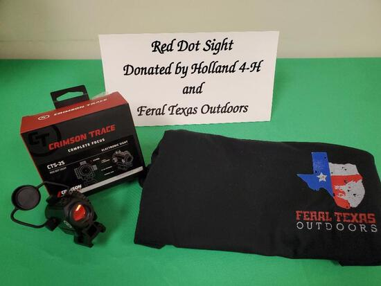 Crimson Trace CTS-25 Red Dot Electronic Sight Holland 4-H