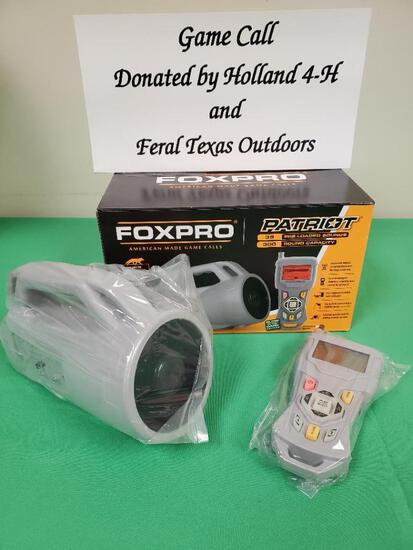 Foxpro Patriot Game Calls Holland 4-H