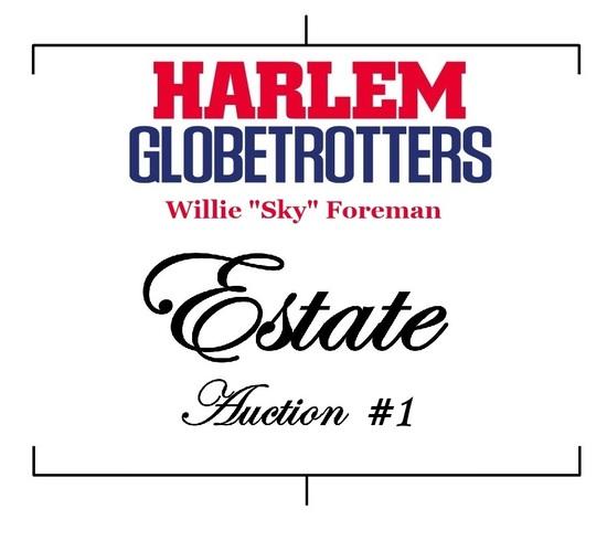 Globetrotter Willie Foreman Estate Auction #1
