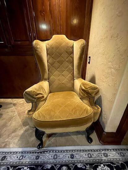 King chair - gold