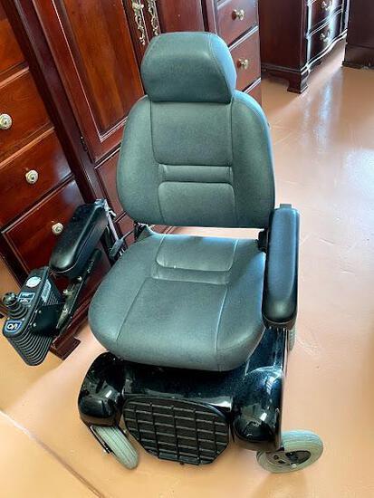 Electric wheelchair black