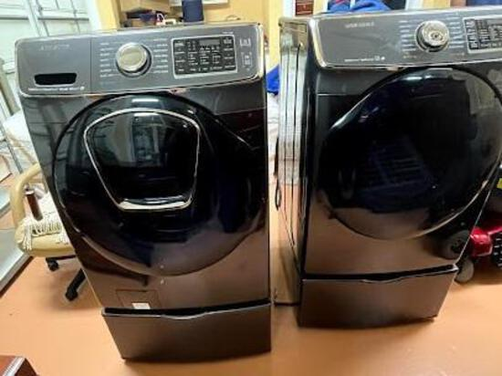 Samsung washer and dryer (electric)