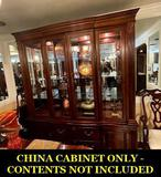 Pennsylvania House Dining room china cabinet 2-piece (cherry)