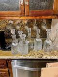 Barware Liquor Decanter - Qty 1 - Click to Read Description