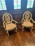 Ivory deco chair