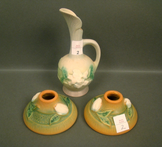 Three Piece Roseville Pottery Lot