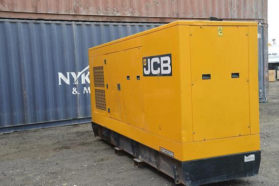2015 JCB 180 KVA Generator