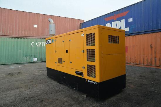 2015 JCB 250 KVA Generator