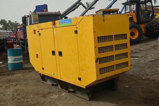 2010 AKSA80 KVA Generator
