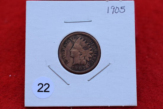 1905 Indian Cent F