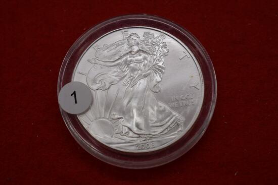 2008 Silver Eagle 1oz - Bu