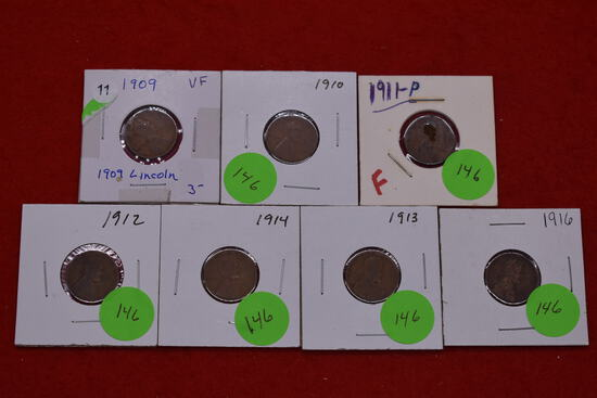 7 - Early Wheat Cents