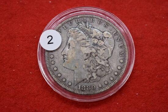 1880 Morgan Dollar - Vf