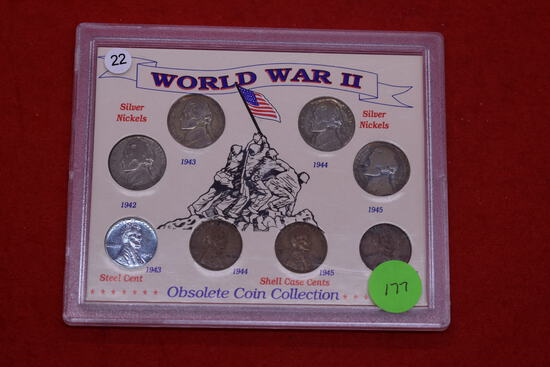 Ww2 Obsolete Coin Collection