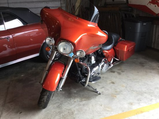 2011 Harley Davidson Flhx