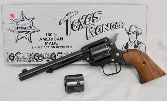 """Texas Ranger Combo 6 1/2"""" Blue .22 Mag"""