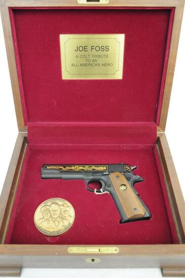 Colt 1911 Joe Foss .45 ACP Commemorative in Presentation Box