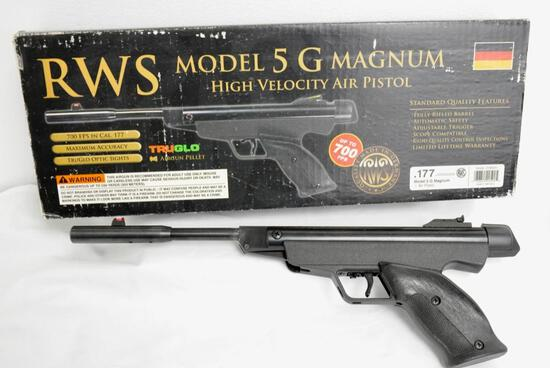 RWS Model 5 G Magnum High Velocity Air Pistol