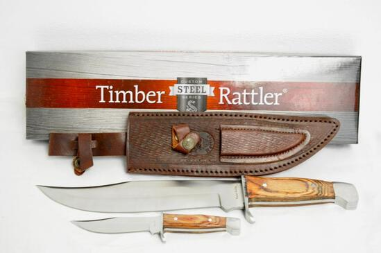 Timber Rattler Custom Steel Series Knife