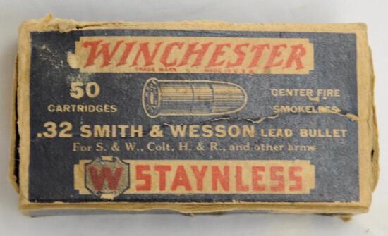 Winchester .32 S&W Vintage Partial