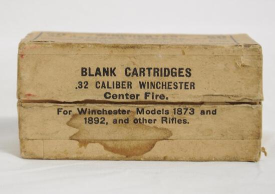 Winchester .32 Cal. Blank Cartridges Full Box