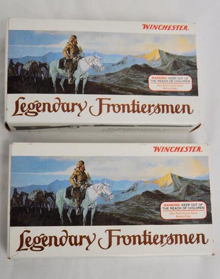 Winchester Legendary Frontiersmen 38-55 2 Full Boxes