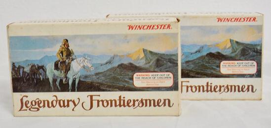 Winchester Legendary Frontiersman 38-55 Two Boxes