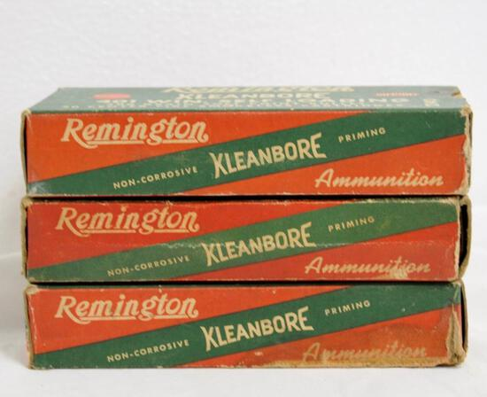 Remington 401 Win 3 Full Boxes