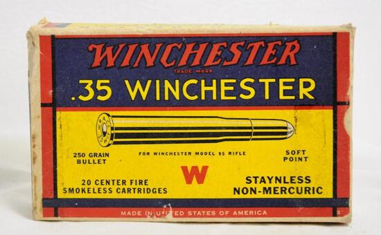 Winchester 35 Win. 250 Gr. SP Full Box