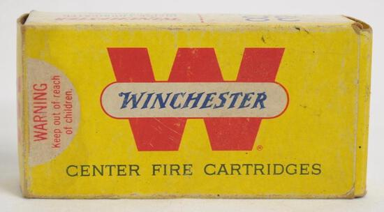 Winchester 38 Colt New Police Full Box