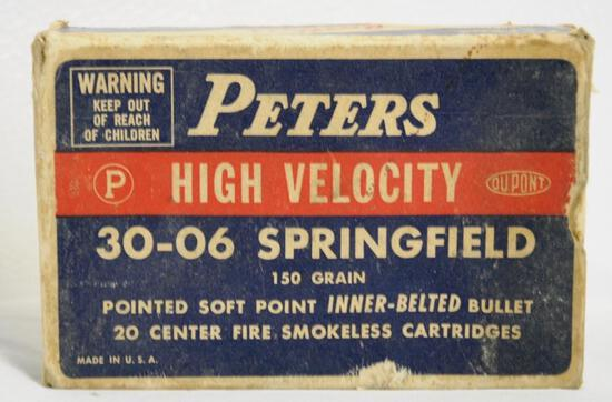Peters Vintage 30-06 Springfield Full Box