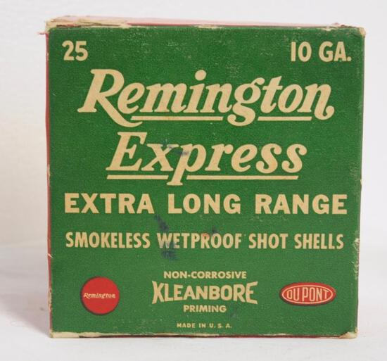 Remington Express Kleanbore 10 Ga. Vintage Full Box