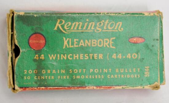 Remington 44-40 Partial Box
