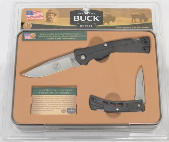 Buck Knives Boone and Crockett Club Collector's Knives