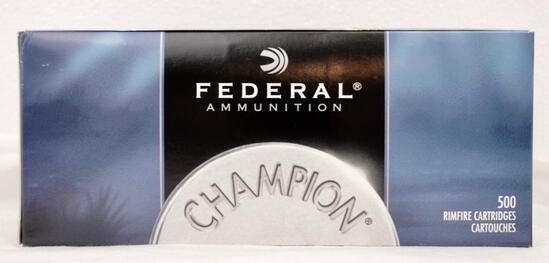 Federal 22 Mag. 500 Round Case