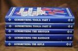 Set of 5 Gunsmithing books from The American Gunsmith Library