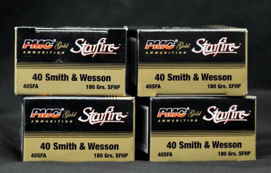 PMC Starfire 40 S&W 180 grain (4 boxes)