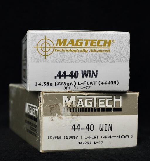 Magtech 44-40 Win 225 Gr & 200 Gr. LFN (2 boxes)