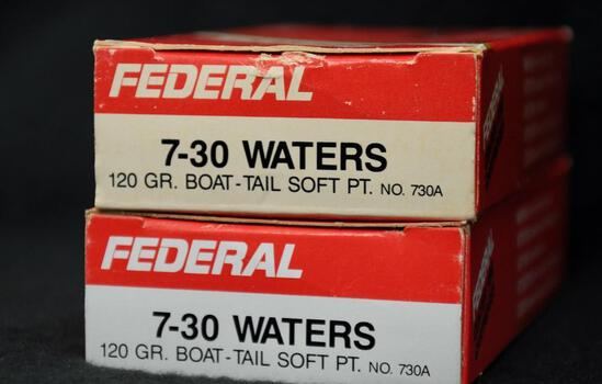 Federal 7-30 Waters 120 Gr BTSP (2 boxes)