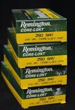 Remington 250 Sav 100 gr. Core-Lokt (4 boxes)