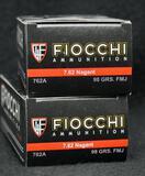 Fiocchi 7.62 Nagant 98 Grain FMJ (2 boxes)