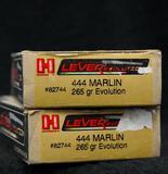 Hornady 444 Marlin 265 Gr. Evolution (2 boxes)