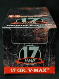 Hornady 17HMR 17 Gr. V-Max 500 Rounds