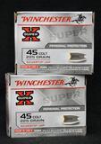 Winchester 45 Colt 225 grain (2 boxes)