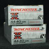 Winchester Super X 44-40 Win 200 Gr. PP (2 boxes)