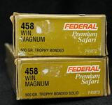 Federal 458 Win Magnum 500 gr Trophy Bonded (2 boxes)