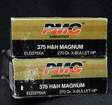 PMC 375 H&H Magnum 270 Gr. HP (2 boxes)