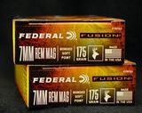 Federal Fusion 7mm Rem Mag 175 Gr. SP (2 boxes)